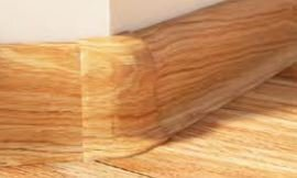 Roh vnější k soklové liště PVC Salag Dub Argos Matný