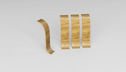 Spojka k soklové liště PVC Dub Aljaška