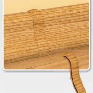 Spojka k soklové liště PVC Dub Burbon Přírodní