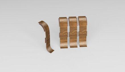 Spojka k soklové liště PVC Pensylvánská Třešeň