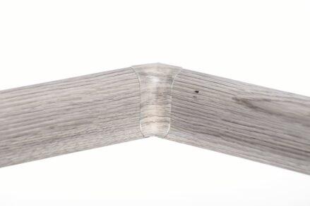 Roh vnitřní k soklové liště PVC Salag Dub Šedý