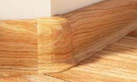 Roh vnější k soklové liště PVC Salag Dub Lismore